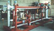 BUTANE-AIR MIXING SYSTEM, AIR BLOWN, INSTRUMENTAL.   MIXTURE   1,750 scm/h   56,52 MJ/ncm   2 bar
