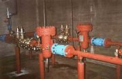 TRANSFER CGN STATION FROM THE CYLINDER WAGONS 200 bar Reduction the pressure in double leap