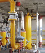 LPG VAPORIZATION, FEED-BACK, AT SERVICE MUNICIPAL GAS PIPELINE     Flow rate  4000 KG/H
