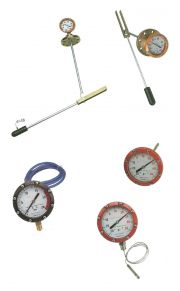 LEVEL INDICATOR WITH MAGNETIC TRASMISSION, MANOMETER, THERMOMETRE